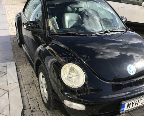 VW BEETLE CABRIOLET '04 full
